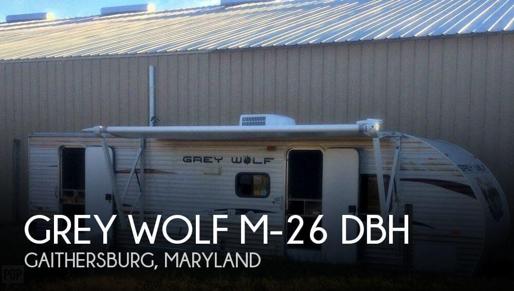 2013 Forest River Grey Wolf M-26 DBH