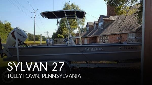 Used Pontoon Boats For Sale by owner | 2015 Sylvan 27