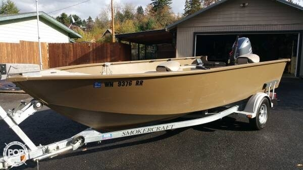 2012 Smoker Craft boat for sale, model of the boat is 16 & Image # 2 of 15