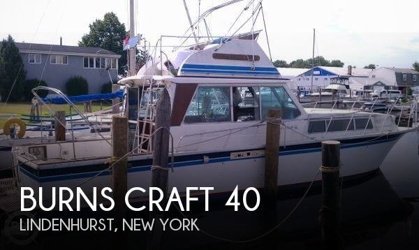 Used Burns Craft Boats For Sale by owner | 1980 Burns Craft 40