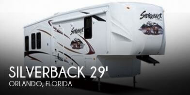 2012 Forest River Silverback 29RL with 2014 Idaho Tote Trailer