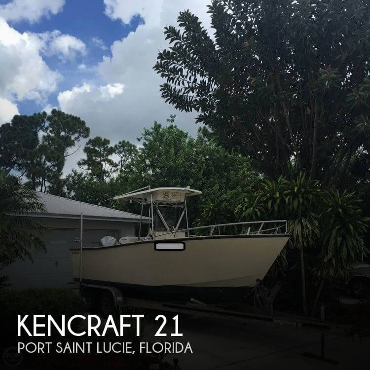 Used Kencraft Boats For Sale by owner | 1990 Kencraft 21