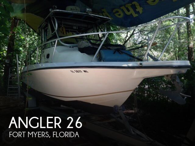 Used Angler Boats For Sale by owner | 2002 Angler 26
