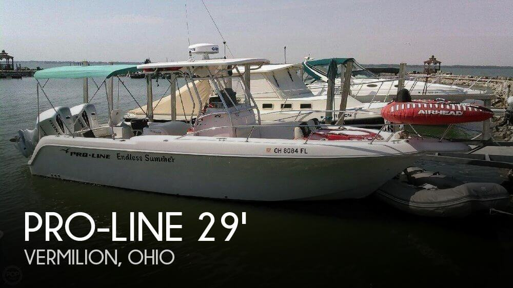 Used Boats For Sale in Cleveland, Ohio by owner | 2005 Pro-Line 29