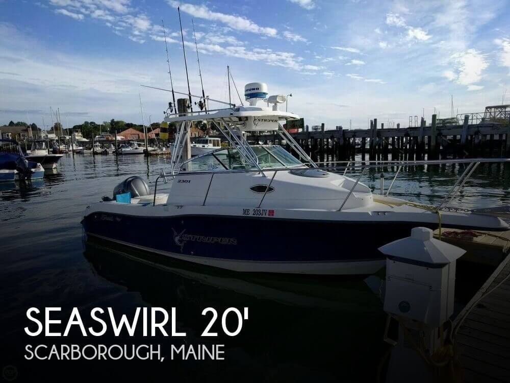 Sold seaswirl striper 2301 boat in scarborough me 117911 for Fishing kayaks for sale near me
