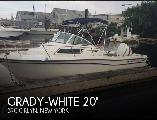 1994 Grady-White boat for sale, model of the boat is Adventure 208 & Image # 1 of 16