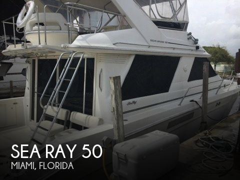 Used Sea Ray Boats For Sale in Florida by owner | 1989 Sea Ray 50