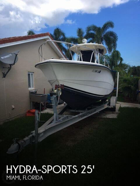 Used Hydra-Sports Boats For Sale by owner | 1991 Hydra-Sports 25