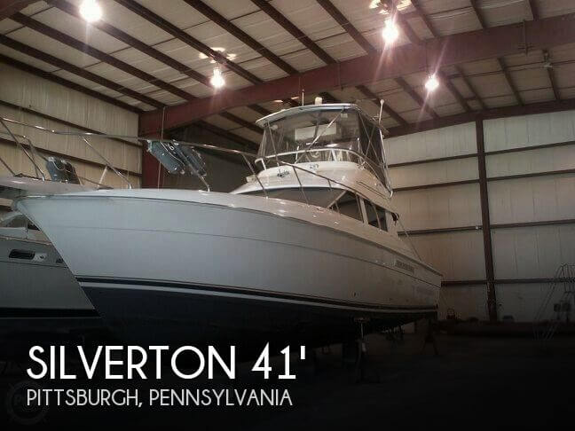Used Boats For Sale in Youngstown, Ohio by owner | 1999 Silverton 41