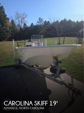 Used Carolina Skiff Boats For Sale by owner   2013 Carolina Skiff 19
