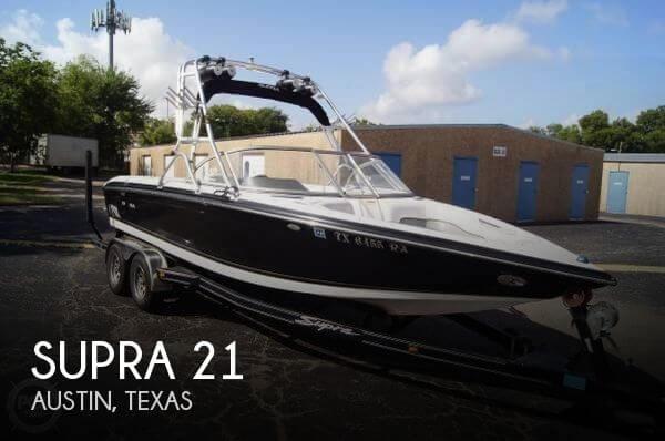 21 Foot Supra 21 21 Foot Supra Motor Boat In Austin Tx