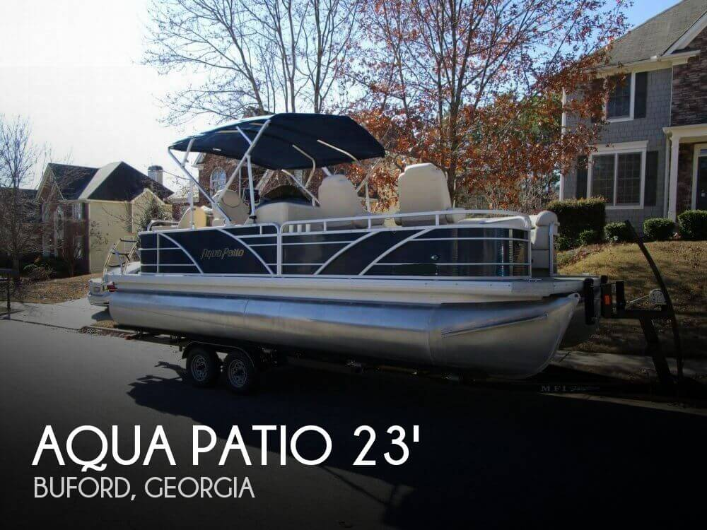 2013 AQUA PATIO AP 220 DF TRI TOON for sale
