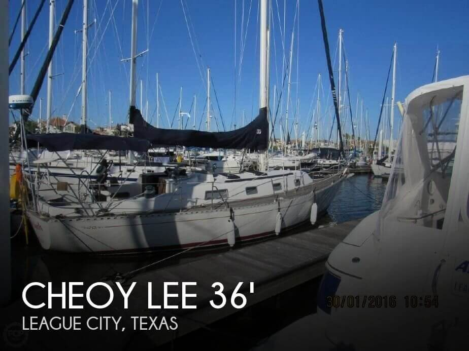 Used Cheoy Lee Boats For Sale by owner | 1987 Cheoy Lee 35