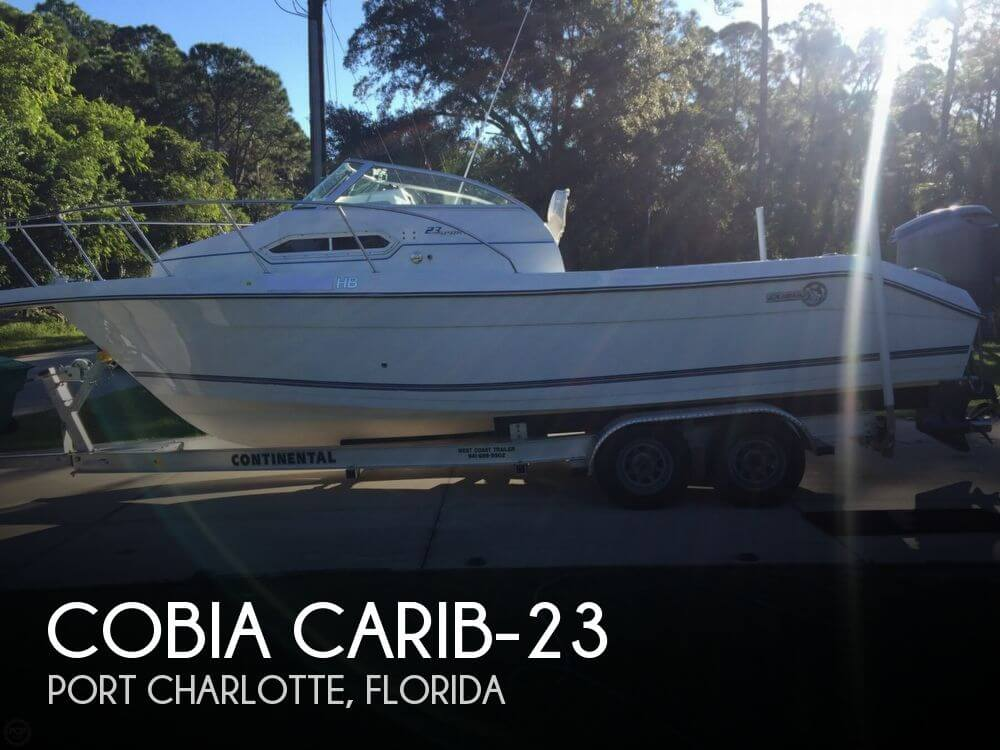 Used Cobia Boats For Sale by owner   1996 Cobia 23