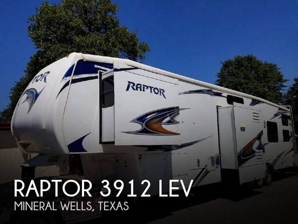 2010 Keystone Raptor 3912 LEV