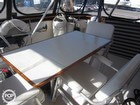 Comfortable Aft Deck Table & Chairs