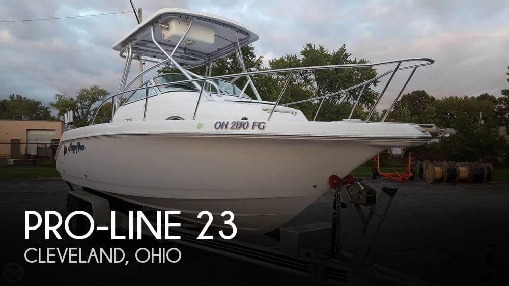 Sold pro line 23 boat in cleveland oh 118181 for Fishing boats for sale in ohio