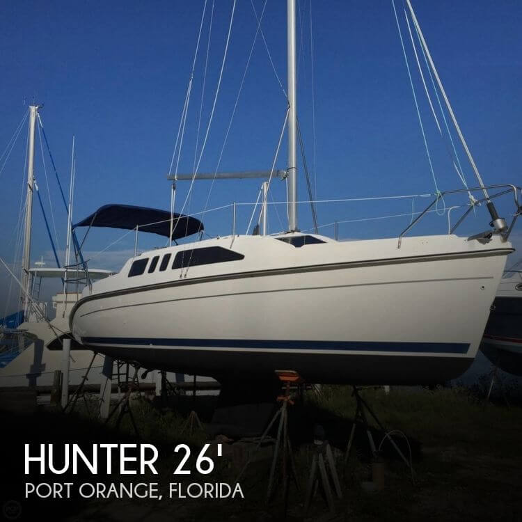 Used Hunter Sailboats For Sale in Florida by owner | 1998 Hunter 27