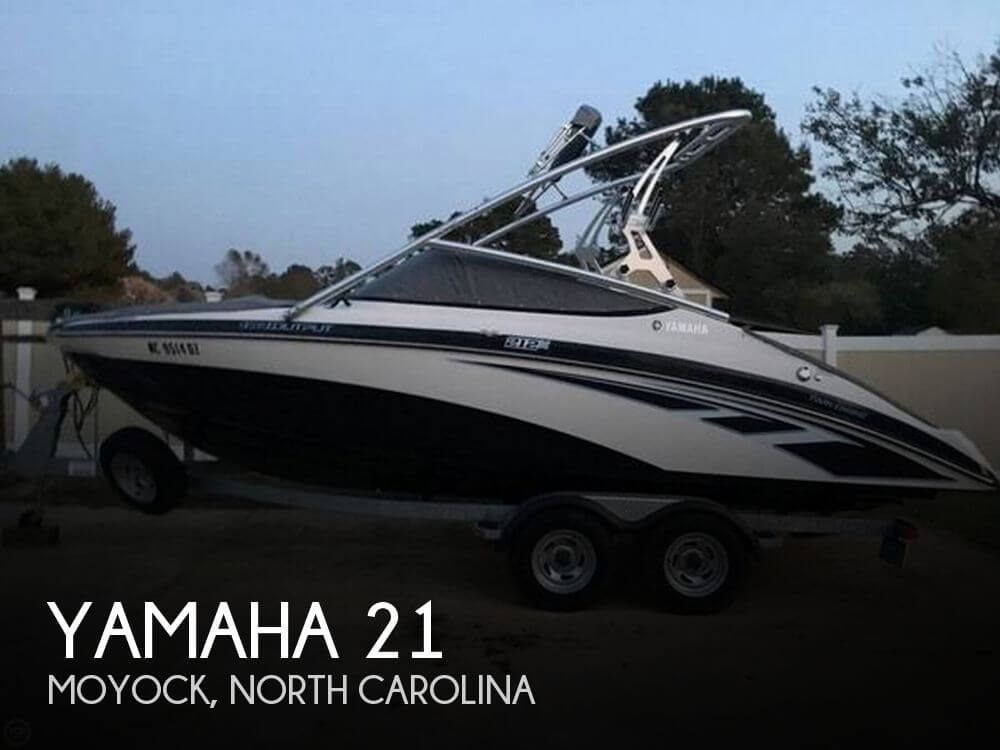 Used Ski Boats For Sale in North Carolina by owner | 2013 Yamaha 21