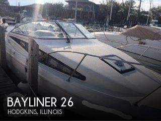 Used Bayliner Boats For Sale in Chicago, Illinois by owner | 1995 Bayliner 26