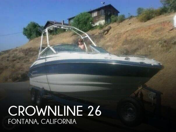 Used Crownline Boats For Sale in California by owner | 2006 Crownline 26