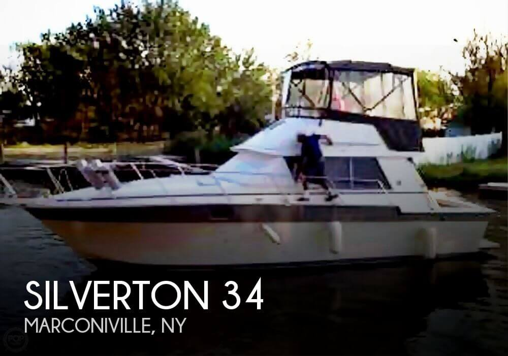 1987 Silverton 34 Fishing Boat For Sale In Copiague Ny