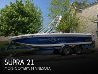 Used Boats For Sale in Rochester, Minnesota by owner | 2003 Supra 21