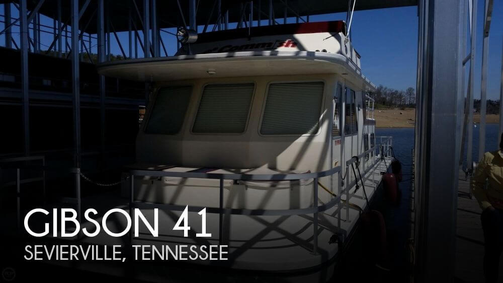 Used Boats For Sale in Knoxville, Tennessee by owner | 1990 Gibson 41