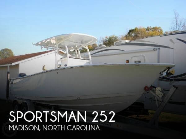 Used Boats For Sale in Greensboro, North Carolina by owner | 2016 Sportsman 25