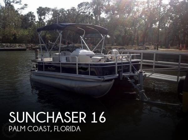 Sunchaser 16 39 boat for sale in palm coast fl for 17 500 for 16 foot aluminum boat motor size