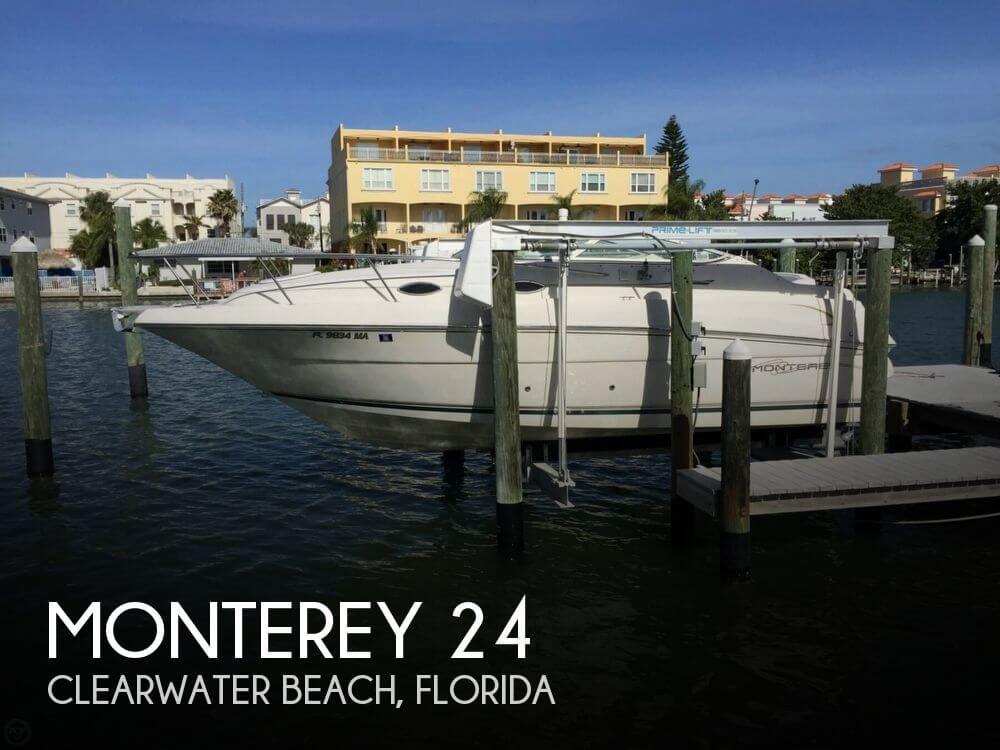 24 Foot Monterey 24 24 Foot Monterey Motor Boat In