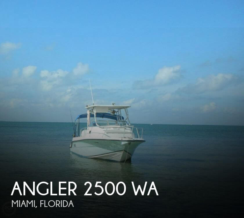 Used Angler Boats For Sale by owner | 2003 Angler 26