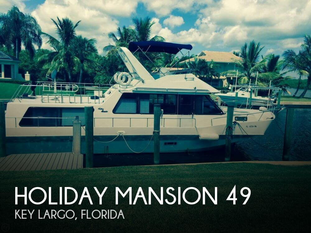 Used Holiday Mansion Houseboats For Sale by owner | 1997 Holiday Mansion 49