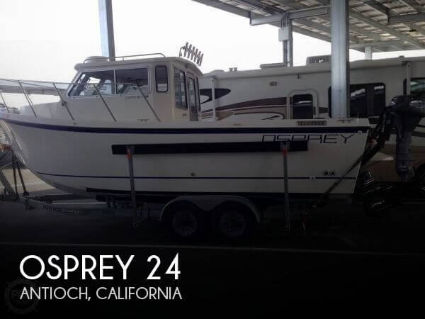Used Boats For Sale in Santa Rosa, California by owner | 2004 Osprey 24