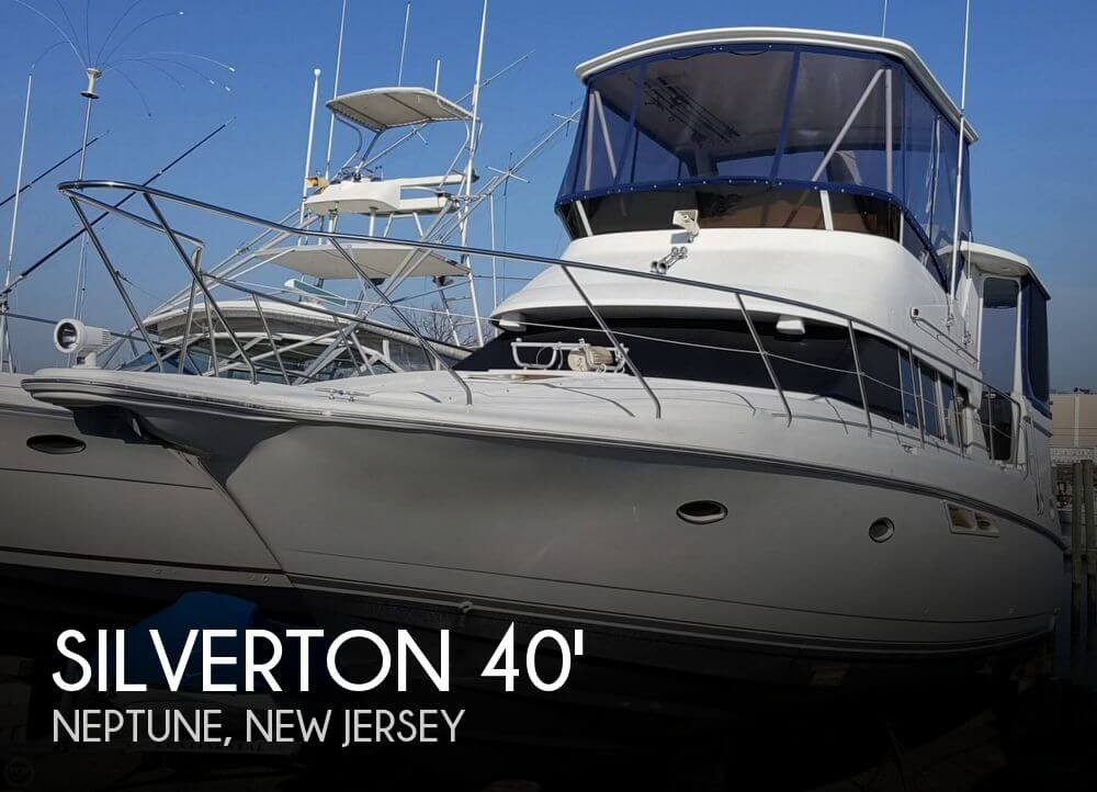 For Sale: Used 1997 Silverton 402 Motor Yacht In Neptune City New Jersey | Boats For Sale # 2350256