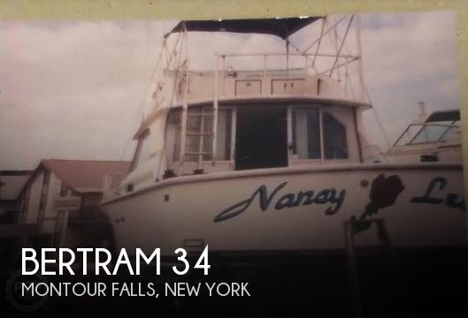 Used Boats For Sale in Syracuse, New York by owner | 1973 Bertram 34