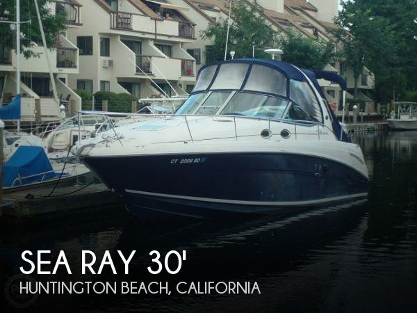 Used Sea Ray Boats For Sale in California by owner | 2005 Sea Ray Sundancer 300