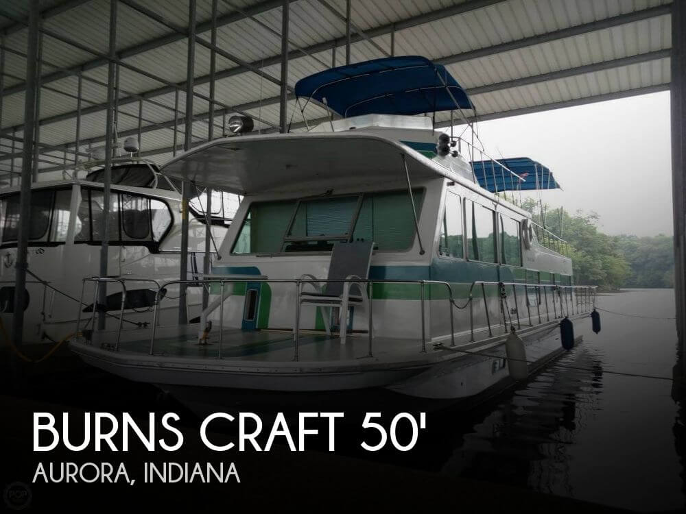Used Boats For Sale in Louisville, Kentucky by owner | 1973 Burns Craft 50