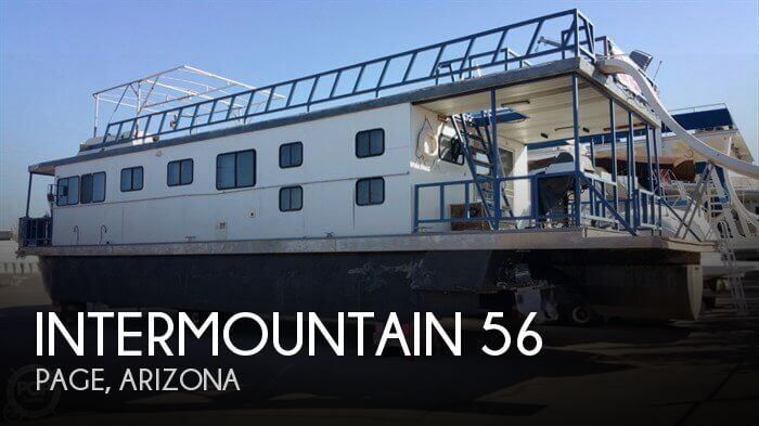 Used Houseboats For Sale in Arizona by owner | 1990 Intermountain 56