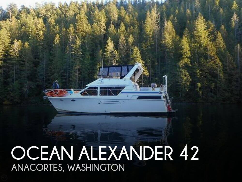 Used Power boats For Sale in Washington by owner | 1986 Ocean Alexander 42