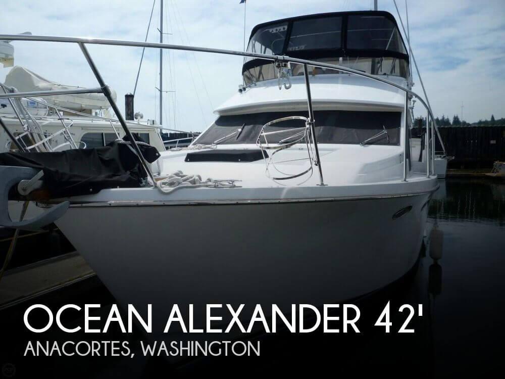 1986 OCEAN ALEXANDER SUNDECK 42 for sale