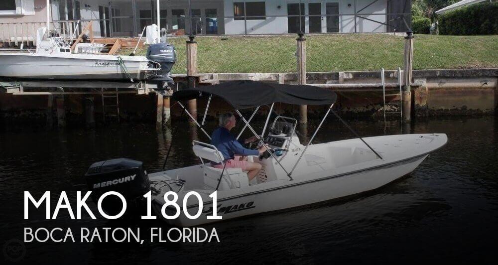 Mako 1801 for sale in boca raton fl for 15 500 pop yachts for Boca raton fishing