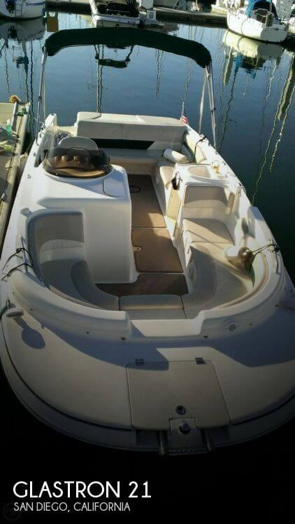 Used Deck Boats For Sale in California by owner | 2006 Glastron 21