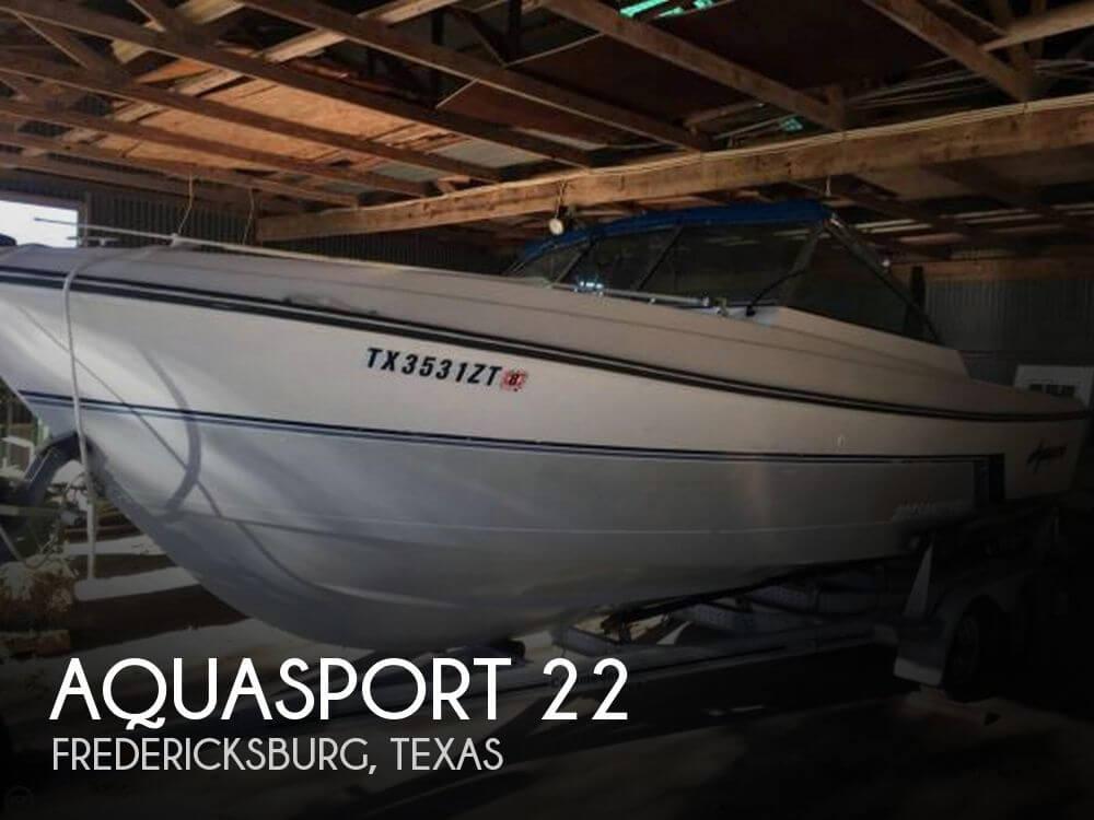 22 Foot Aquasport 22 22 Foot Motor Boat In
