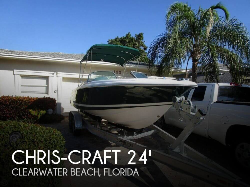 For sale used 2002 chris craft 22 launch in clearwater for Used chris craft launch for sale