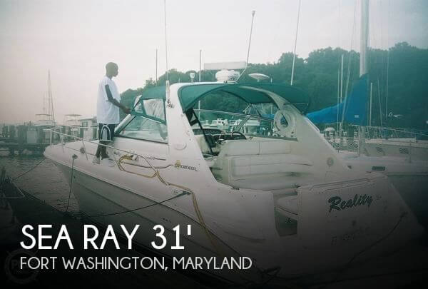 Used Sea Ray Boats For Sale in Maryland by owner | 1998 Sea Ray 31