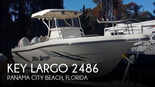 For sale used 2017 key largo 2486 in panama city beach for Used boat motors panama city fl