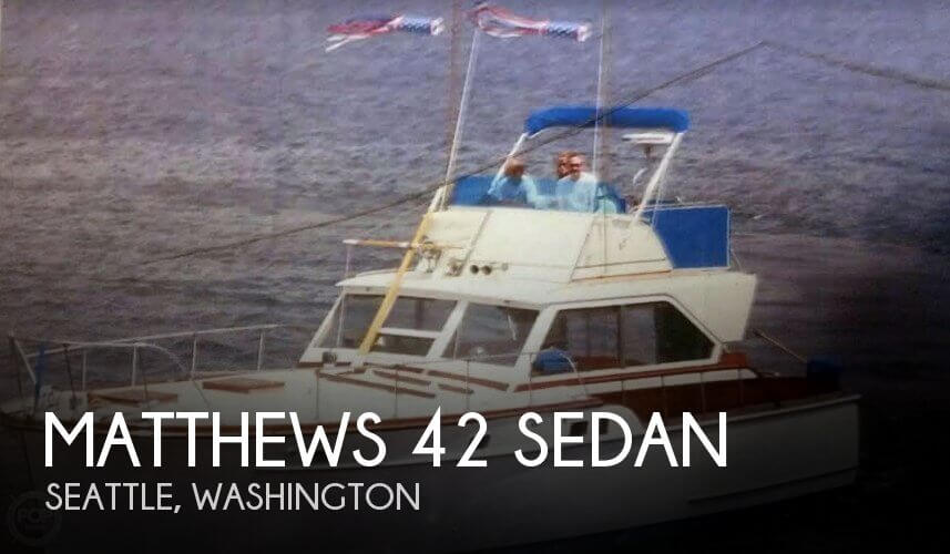 Used Matthews Boats For Sale by owner | 1961 Matthews 42