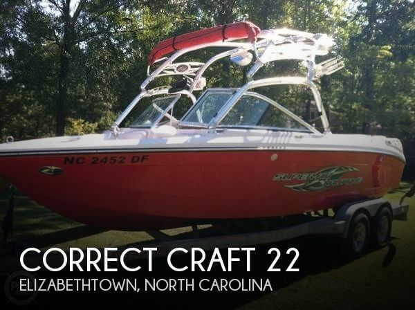 Used Correct craft Boats For Sale by owner | 2007 Correct Craft 22