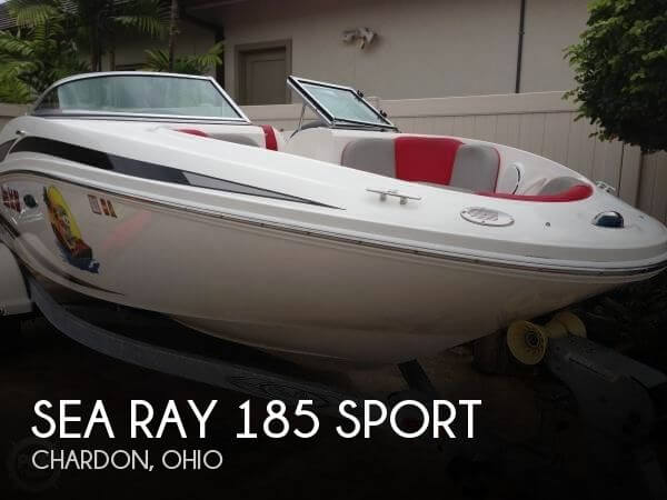 Used Sea Ray Boats For Sale in Ohio by owner | 2011 Sea Ray 185 Sport